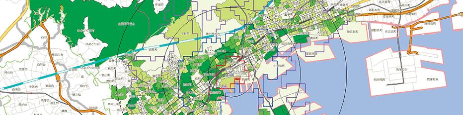 地図情報システムを使ったポスティングの技術